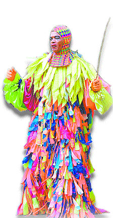 Trinidad Amp Tobago Traditional Carnival Characters